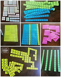 number sense, hundreds chart ,number patterns, number puzzles, skip counting… Math Literacy, Fun Math, Teaching Math, Teaching Ideas, Teaching Numbers, Math Numbers, Number Puzzles, Math Strategies, Math Resources