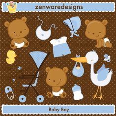 Baby Boy Characters & Icons