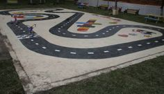 How to paint asphalt games
