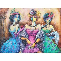 Ladies Partisi Jigsaw Puzzle, 1000 pieces - Herrschners