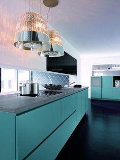 Platinum Blue kitchen by In-toto