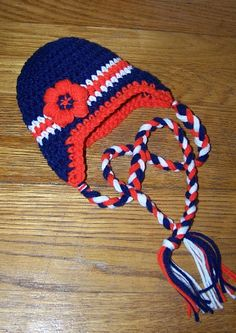 9bb2003b4 Denver Broncos baby hat baby football hat you by conniemariepfost