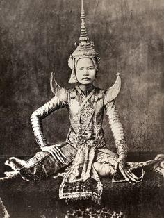 Siam: Dancer, C1870 http://islandinfokohsamui.com/