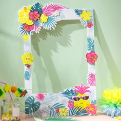 Cheap Party DIY Decorations, Buy Directly from China Suppliers:Summer Party Decor Photo Booth Props Big Frame Pineapple Decor Beach Pool Luau Tropical. Hawaiian Photo Booth, Luau Photo Booths, Birthday Photo Booths, Party Photo Frame, Party Frame, Diy Photo Booth, Beach Photo Props, Hawaiian Party Decorations, Summer Party Decorations