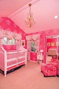 cute pink room