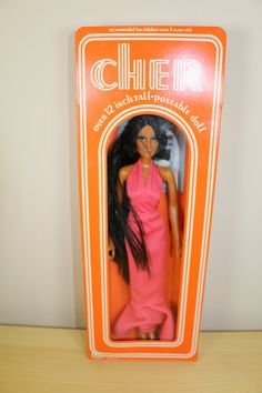 I had this one! Vintage Cher Doll NIB Mego 1976. by DesignHiveVintage on Etsy