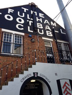 Welcome to Craven Cottage! Fulham Fc, Bristol Rovers, Premier League, 1960s, Soccer, England, Cottage, Memories, Club