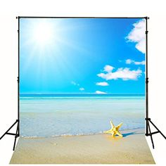 Anti Crease Digital Cloth White Cloud Sea Beach Photography Backdrops for Scenery Photographic Backgrounds Props Photography Backdrops, Beach Photography, Digital Photography, Children Photography, Product Photography, Video Backdrops, Beach Background, Natural Scenery, Clouds