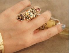 Leopard Fashion Design Ring on BuyTrends.com, only price $4.95
