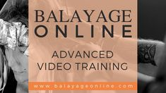 Balayage Online is the most comprehensive and in-depth training available on the web. Learn advanced balayage and specialty color techniques as well as social media and business success strategies.