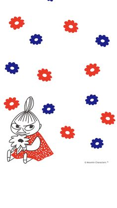 Cute Home Screen Wallpaper, Cute Home Screens, Moomin Wallpaper, Wallpaper Backgrounds, Iphone Wallpaper, Tove Jansson, Little My Moomin, Finland Trip, Moomin Valley