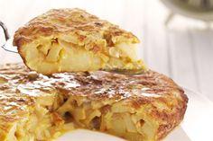 Tortilla de papas  la mejor comida del universo