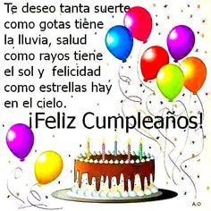 Trendy Happy Birthday Messages In Spanish Ideas Spanish Birthday Wishes, Happy Birthday Wishes Quotes, Birthday Blessings, Happy Birthday Pictures, Happy Birthday Greetings, Happy B Day, Birthday Board, Continue Reading, Gardenias