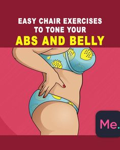 A workout for you to get perfect abs! Easy Chair exercises were created to reduce the size of the abdomen quickly and easily! Do it and enjoy the results! burn fat A workout for you to get perfect abs! Easy Chair exercises were created to reduc Fitness Workouts, Easy Workouts, Fitness Diet, Fitness Goals, At Home Workouts, Fitness Motivation, Health Fitness, Sport Motivation, Fitness Quotes