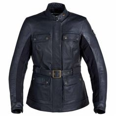 Newchurch Jacket: Great leather women's motorcycle jacket from #Triumph