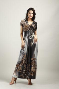 New Retail Spring And Summer Fashion women Beach sundress Leopard Dress Bohemian…