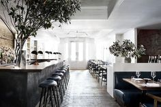 greige: interior design ideas and inspiration for the transitional home : Design inspiration {the musket room} Restaurant New York, Bohemian Restaurant, Concept Restaurant, Restaurants Gastronomiques, Design Bar Restaurant, Manhattan Restaurants, Manhattan Nyc, Design Hotel, Downtown New York