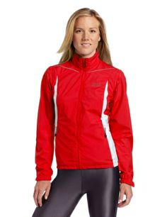 Gore Bike Wear Women's Countdown 2.0 Active Shell Zip-Off Lady Jacket, Rich Red/White, X-Large - http://ridingjerseys.com/gore-bike-wear-womens-countdown-2-0-active-shell-zip-off-lady-jacket-rich-redwhite-x-large/
