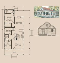 House plans shotgun house and shotguns on pinterest for Small shotgun house plans