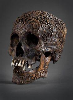 Тибетский античный ритуальный черепок
