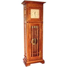 Buy Woodworking Project Paper Plan to Build Mission Style Grandfather Clock, AFD295 at Woodcraft.com