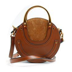 603287a489  78 - Shipping Worldwide - Eldora Genuine Leather Shoulder Bag Brown 76381 Shoulder  Purse