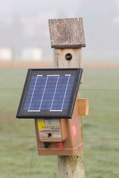 Solar electric fence chargers offer livestock protection in even the most remote locations.