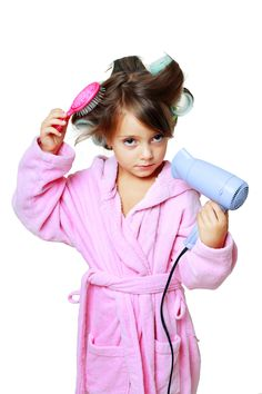Bye-Bye, Ponytail! 11 Easy Hairdos For Your Daughter... Some of these are good. Some are a little much!
