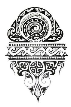 The Latest Polynesian Sun Tattoo Design | Tattoobite.com