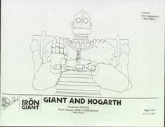 The Iron Giant - Giant and Hogarth