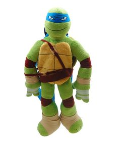 Another great find on #zulily! Teenage Mutant Ninja Turtles Leonardo Plush Backpack by Teenage Mutant Ninja Turtles #zulilyfinds