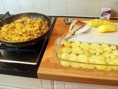 Deze ovenschotel met prei en kerrie-gehakt bedacht ik speciaal voor Sigrid. Haar gezin is hier dol op, maar het recept was zoek geraakt.