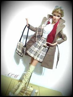 Vanessa Burberry | Angelo La Manna (pandino84) | Flickr Barbie Style, Burberry Prorsum, Fashion Dolls, Barbie Dolls, Clothes, Beautiful, Vintage, Art, Top Luxury Brands