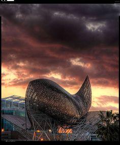 Big Fish in Barcelona #Architecture (Catalonia-Catalunya)