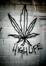 Weed Graffiti Art Hot