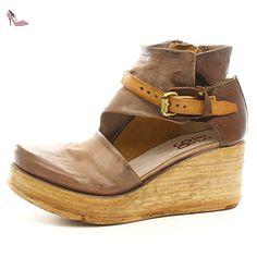 A.S.98 Compensèes Noetta 528022-101 Grunge Natur Castagna 37 - Chaussures  as98 (*