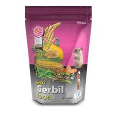 The ONLY gerbil food. No sunflower seeds in it, much better than any other mix I've tried.