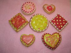 Funky Decorated Cookies
