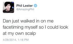 Phil being Phil (: