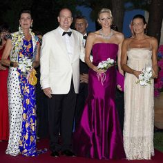 Monaco's Red Cross Ball hosted by Prince Albert and Princess Charlene