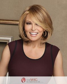 Take center stage with the stunning Upstage wig by Raquel Welch. This layered bob offers incredible volume and fullness, to provide you with a wig that will effortlessly see you through a casual lunch