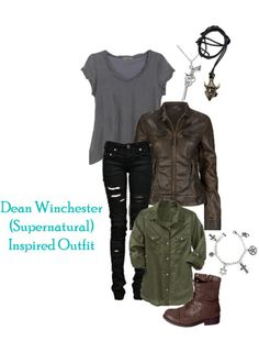 Dean Winchester inspired outfit!