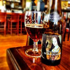 Duchesse De Bourgogne. Belgian top-fermented reddish-brown ale, a blend of 8 and 18 months old beers following the careful maturation in oak casks.
