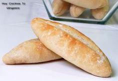 Barritas de pan caseras