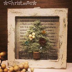 セリアさんの材料で簡単クリスマスツリー♪を作ってみました〜(*^o^*)