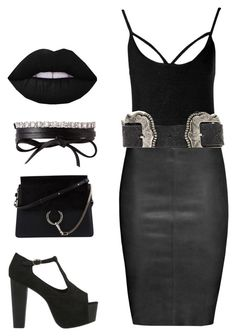 """Such Goff"" by girlbehindthebluedoor1590 on Polyvore featuring Boohoo, Jitrois, Jeffrey Campbell, B-Low the Belt, Fallon and Chloé"