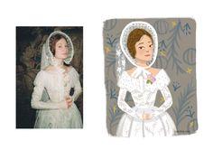 #JaneEyre #EmilyBrontë by isabelmg.com  #illustration#art#painting