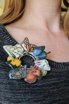 Butterfly Brooch, Carrie Garrott