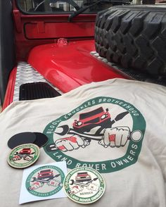 """""""Bloody Knuckle Brotherhood"""" Velcro-backed patch....dedicated to the Land Rover owners out there...specifically their tenacity camaraderie mechanical knowledge ability to pull together in one way shape or form to help one another and their love of Rovers.  #seriesdefender #seriesdefenderoutfitters #sdo #landrover #rover #defender #landroverdefender #defender90 #defender110 #defender130 #d90 #d110 #d130 #bkb #bloodyknucklesbrotherhood by seriesdefender """"Bloody Knuckle Brotherhood""""…"""
