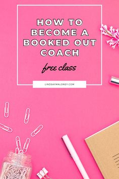 Learn how to become a booked out coach! In this free masterclass, you will learn: The #1 platform for coaches that will allow you to grow organically, develop notoriety, and create powerful connections with your audience on social media How to create content that will build your list for free and fill it up with high quality leads, so you can fill up that calendar of yours 3 simple ways your content can actually work for you, make you money, and book your dream clients